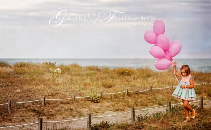 fotografía de familia en exteriores y comunión