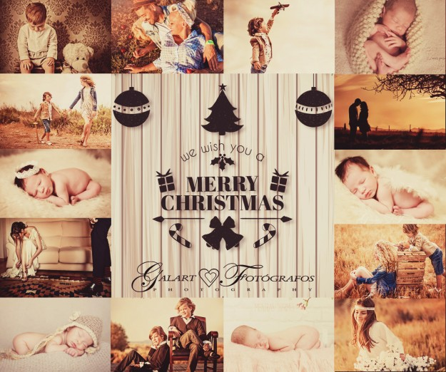 Galart Fotógrafos desea a todos nuestros clientes y amigos Feliz Navidad