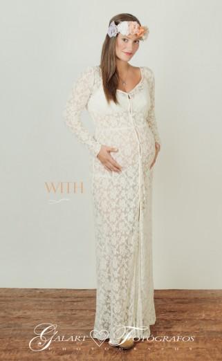 Fotos de embarazo en estudio, foto premamá, (3)