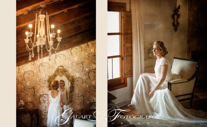 Fotografías de novios en el campo, reportaje de boda, fotos de novios, masía les casotes, galart fotografos (7)