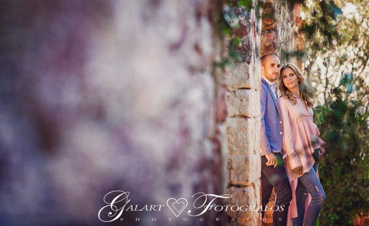 Fotografías de novios en el campo, reportaje de boda, fotos de novios, masía les casotes, galart fotografos (3)