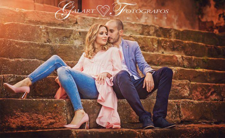 Fotografías de novios en el campo, reportaje de boda, fotos de novios, masía les casotes, galart fotografos (2)