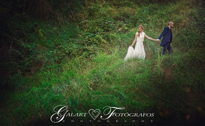 Fotografías de novios en el campo, reportaje de boda, fotos de novios, masía les casotes, galart fotografos (14)