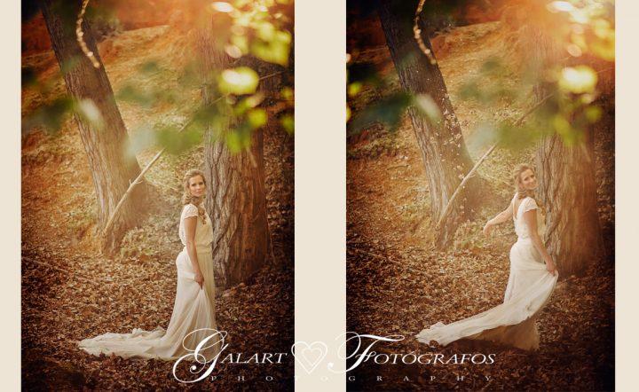 Fotografías de novios en el campo, reportaje de boda, fotos de novios, masía les casotes, galart fotografos (12)